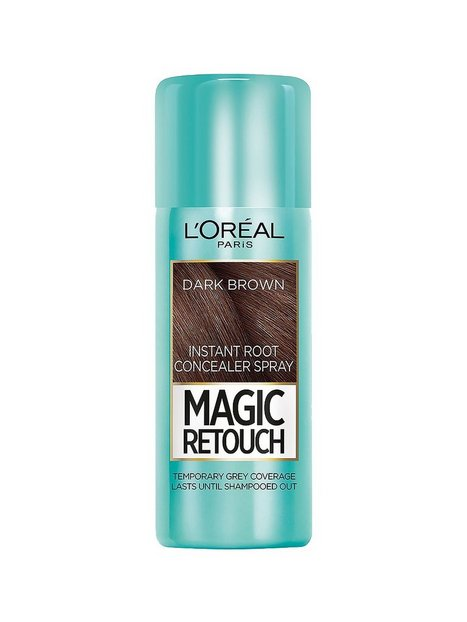 Billede af L'Oréal Paris Magic Retouch Instant Root Concealer Spray Hårfarve Dark Brown