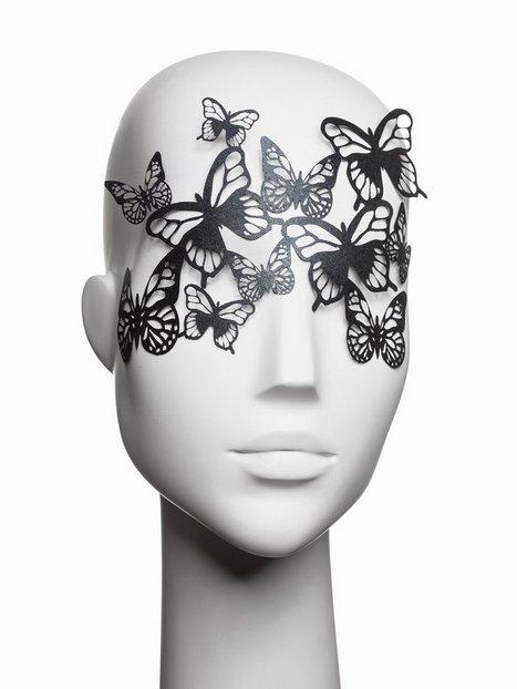 Billede af Bijoux Indiscrets Sybille Vinyl Mask Tilbehør-- Sort