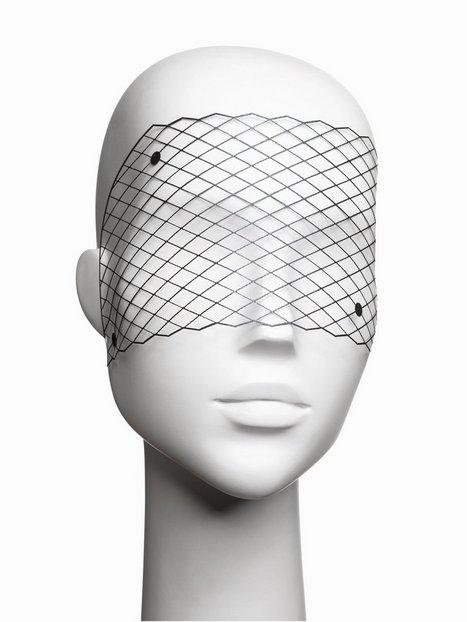 Billede af Bijoux Indiscrets Louise Vinyl Mask Tilbehør-- Sort
