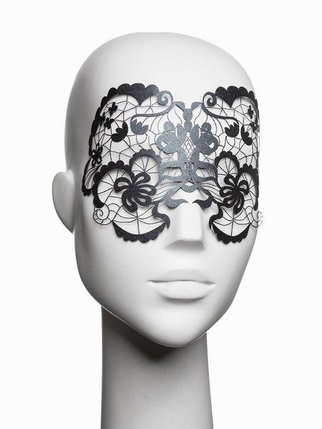 Billede af Bijoux Indiscrets Anna Vinyl Mask Tilbehør-- Sort