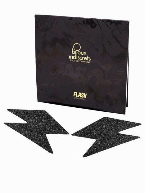 Billede af Bijoux Indiscrets Flash Bolt Nipple Cover Pasties Tilbehør-- Black