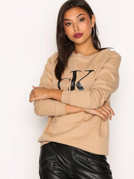 Billede af Calvin Klein Jeans Crew Neck Hwk True Icon Sweatshirt Tannin