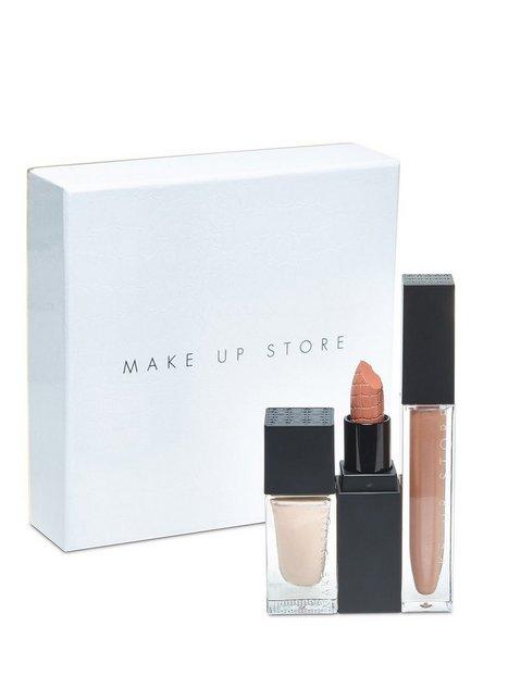 Billede af Make Up Store Golden Gift Set Lips & Nails Gift Set Multi