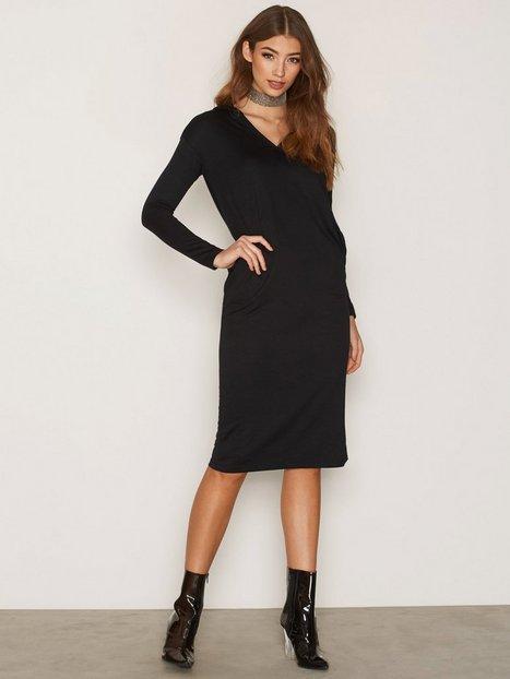 Billede af Dr Denim Ivy Hood Dress Langærmet kjole Black