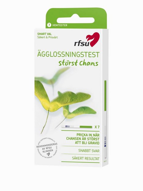 Billede af RFSU Ovulation Test 7-pack Graviditetstest Transparent