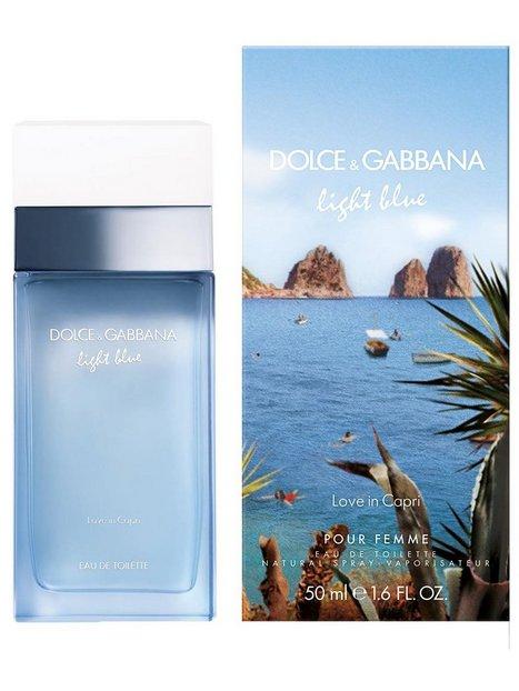 Billede af Dolce & Gabbana Light Blue Love in Capri Edt 50 ml Parfume Transparent