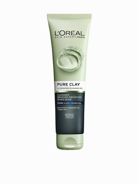 L'Oréal Paris Pure Clay Illuminating Cleansing Gel 150 ml Ansiktsrengöring