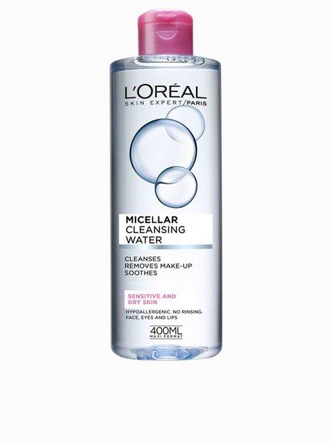 Billede af L'Oréal Paris Micellar Cleansing Water Sensitive/Dry Skin 400 ml Makeup fjerner/Shine Control Transparent
