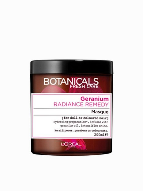 Billede af L'Oréal Paris Botanicals Radiance Remedy Hair Mask 200 ml Hårkur og Hårolie Transparent