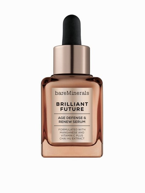 Billede af bareMinerals Brilliant Future Age Defense and Renew Serum Olie & Serum Transparent