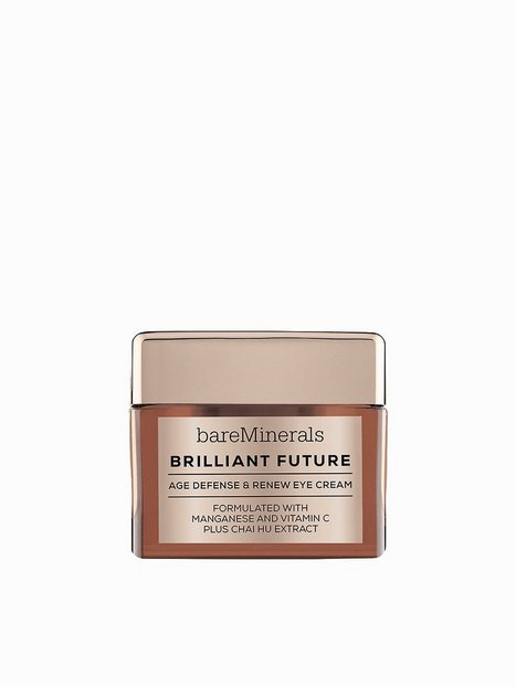 Billede af bareMinerals Brilliant Future Age Defense & Renew Eye Cream Øjenpleje Transparent