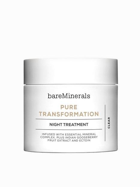 Billede af bareMinerals Pure Transformation Night Treatment Ansigtsbehandling Transparent