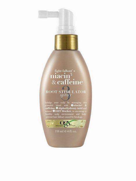 Billede af OGX Niacin & Caffeine Root Stimulator Spray 118 ml Hårkur og Hårolie Transparent