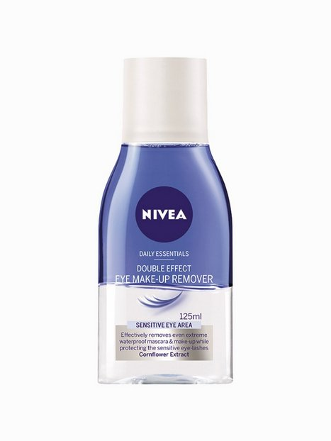 Billede af Nivea Double Effect Eye Make Up Remover 125 ml Makeup fjerner/Shine Control Transparent