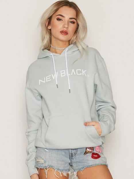Billede af New Black Logo Hood Sweatshirt Mint