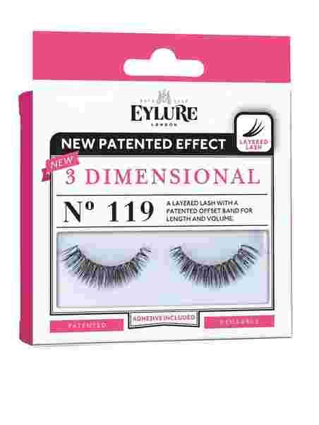 077faf7c4f3 3 - D Lashes No. 119 - Eylure - Black - Make Up - Hygiene - Women ...