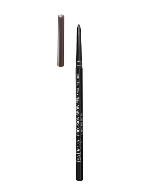 Isadora Precision Brow Pen Waterproof Ögonbryn Medium Brown - Isadora