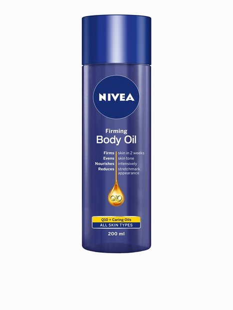 Billede af Nivea Firming Body Oil Q10 200 ml Bodylotion Transparent