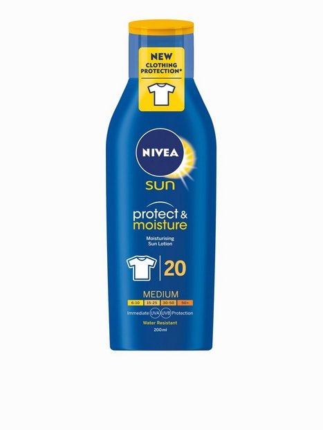 Billede af Nivea SPF20 Sun Lotion with Clothing Protection 200 ml Solfaktor SPF 20
