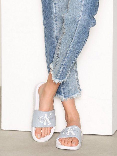 Billede af Calvin Klein Jeans Chantal Heavy Canvas Sandaler Chambray