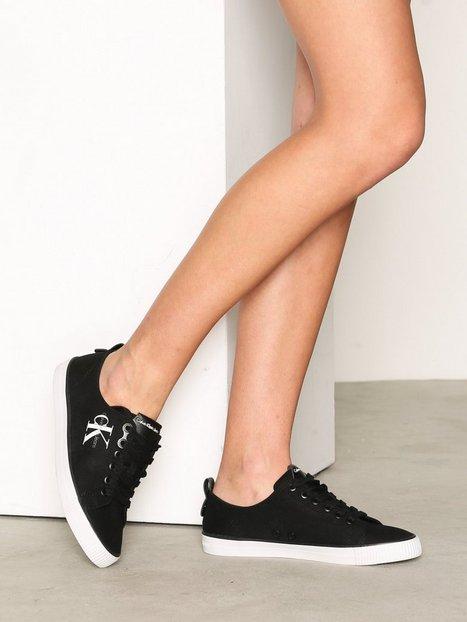 Billede af Calvin Klein Jeans Dora Canvas Low Top Sort