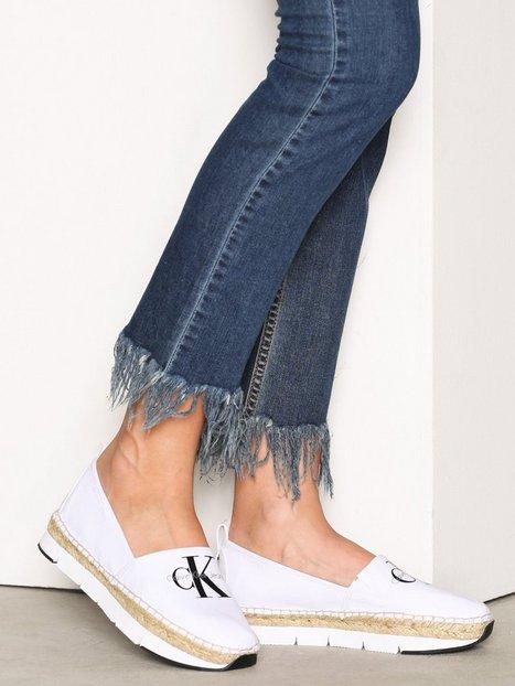 Billede af Calvin Klein Jeans Genna Canvas Espadrilles Hvid