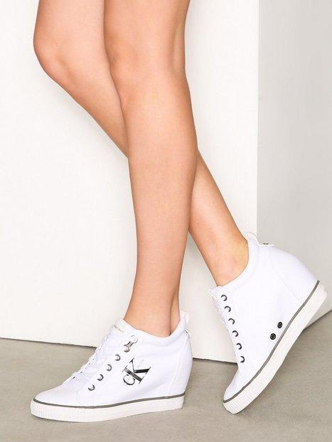 Billede af Calvin Klein Jeans Ritzy Canvas High Top Hvid