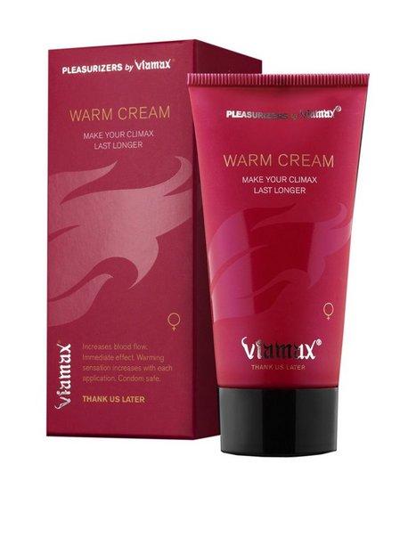 Billede af Viamax Warm Cream 50 ml Glidecreme Transparent