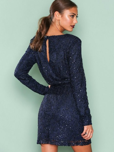 Sparkly V Neck Dress