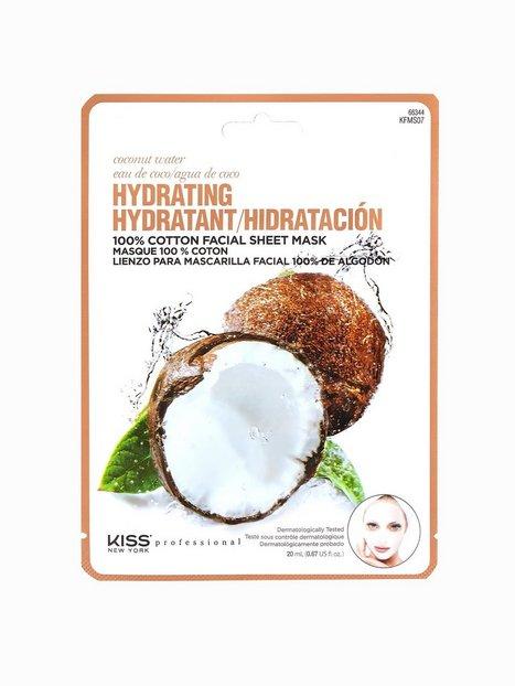 Billede af Kiss Professional New York Hydrating Sheet Mask Ansigtsmaske Coconut