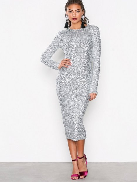 Midi Sequin Dress