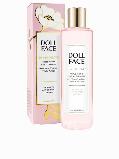 Billede af Doll Face Invigorate Triple-Action Facial Cleanser 240 ml Ansigtsrens Transparent