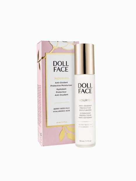 Billede af Doll Face Nourish Anti-Oxidant Protective Moisturizer 50 ml Dagcreme Transparent