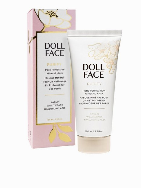 Billede af Doll Face Purify Pore Perfecting Mineral Mask 100 ml Ansigtsmaske Transparent