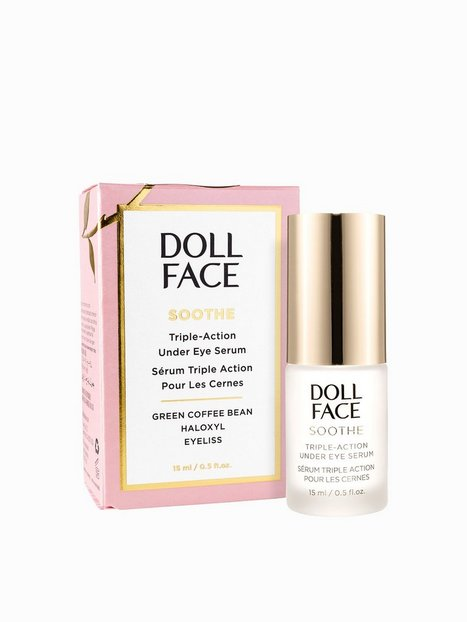 Billede af Doll Face Soothe Triple-Action Under Eye Serum 15 ml Øjenpleje Transparent