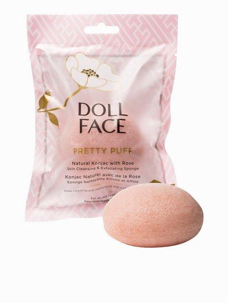 Billede af Doll Face Pretty Puff Natural Konjac Sponge Ansigtsrens Rose