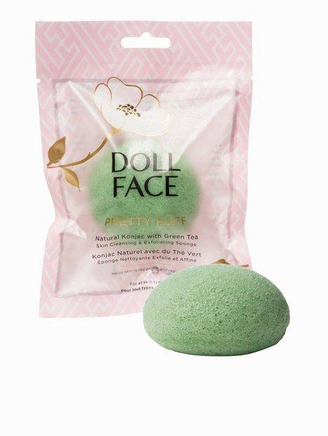 Billede af Doll Face Pretty Puff Natural Konjac Sponge Ansigtsrens Green Tea
