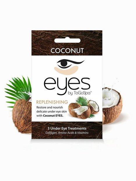 Billede af ToGoSpa 3 Under Eye Treatments Ansigtsmaske Coconut