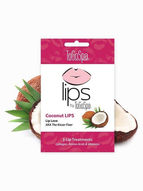 Billede af ToGoSpa 3 Collagen Gel Lip Masks Ansigtsmaske Coconut