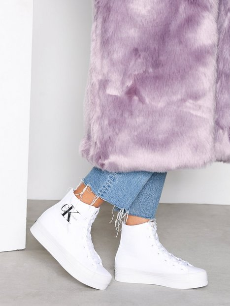 Billede af Calvin Klein Jeans Zabrina Canvas High Top Hvid