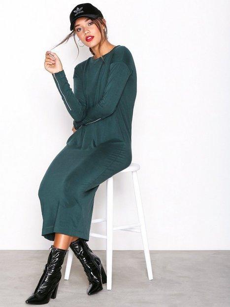 Billede af Dr Denim Arja Dress Langærmet kjole Green