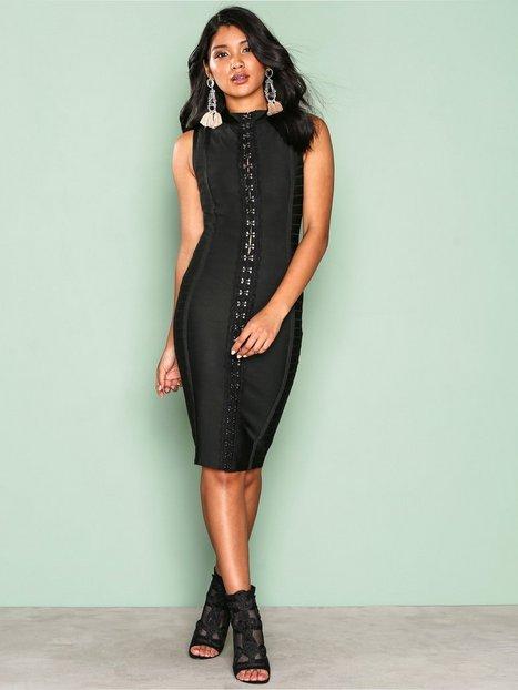Billede af WOW Couture Detailed Front Bodycon Dress Kropsnære kjoler Black