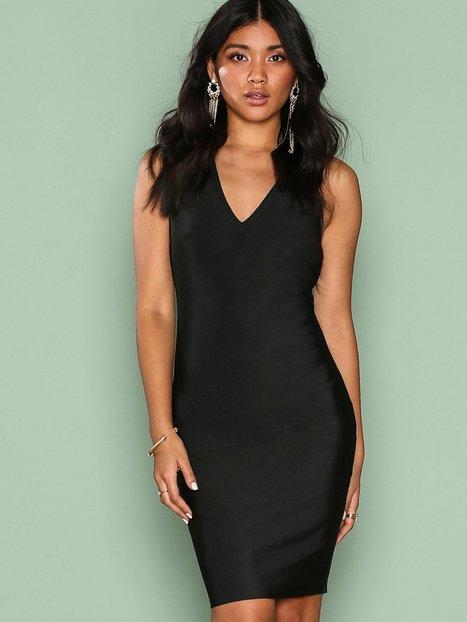 Billede af WOW Couture Strap Detail Back Bodycon Dress Kropsnære kjoler Black