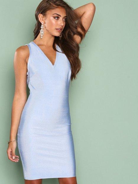 Billede af WOW Couture Strap Detail Back Bodycon Dress Kropsnære kjoler Seafoam