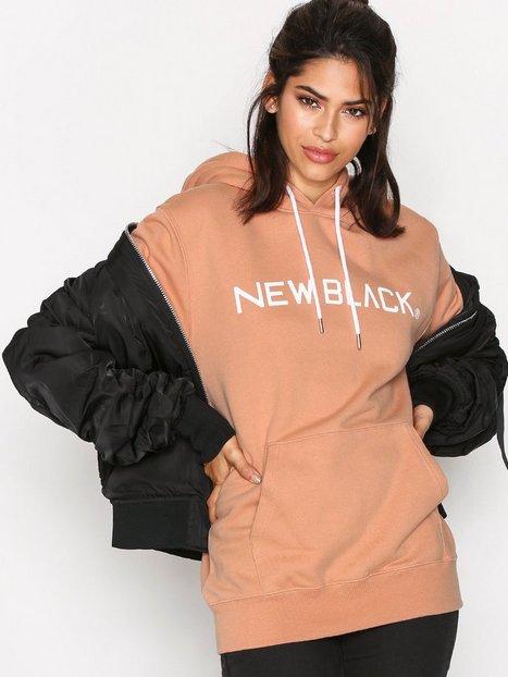 Billede af New Black Logo Hood Hoods Coral