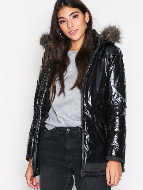 Billede af Calvin Klein Jeans Oriole Down Hooded Parka Dunjakke Black