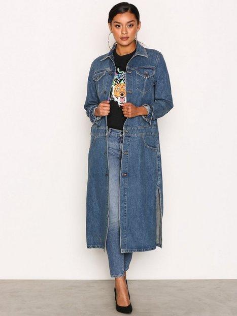 Billede af Calvin Klein Jeans Denim Coat Rugged Frakke Blue