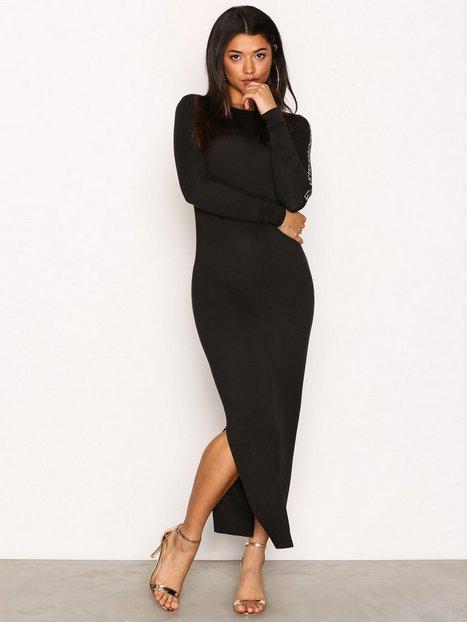 Billede af Calvin Klein Jeans Darna Cn Lwk L/S Kropsnære kjoler Black