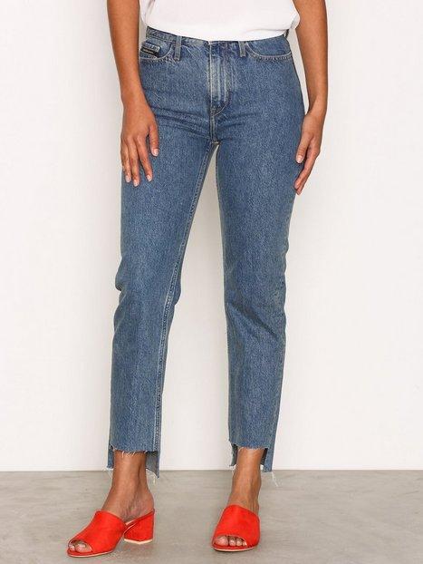 Billede af Calvin Klein Jeans HR Straight Ankle Step Loose fit Blue