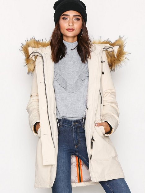 Billede af Blonde No8 Polar Jacket FakeFur Vindjakke Beige